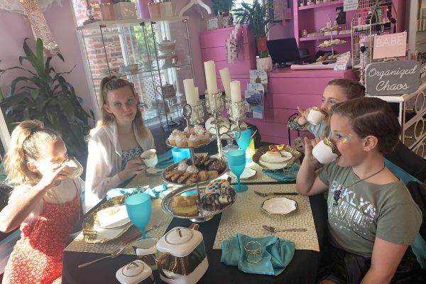 Cheers Ladies! Tea Time at its Finest at Lovely Little Ladies in The Carlsbad Village