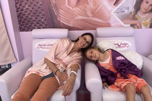 Mother and Daughter Spa Party