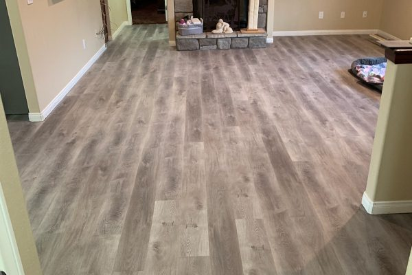 Waterproof Vinyl Flooring and Installation in Hesperia, California