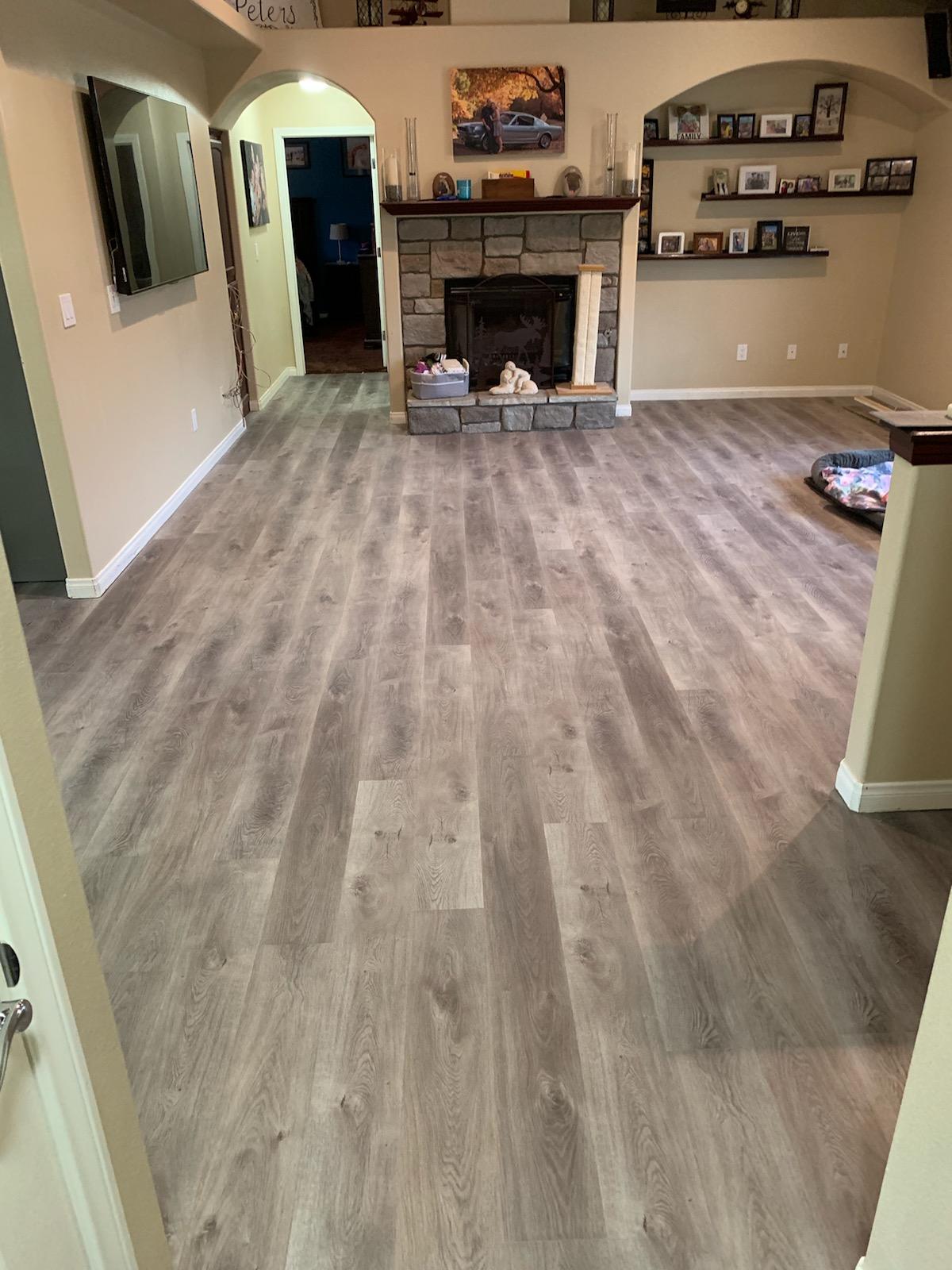 Waterproof Vinyl Flooring and Installation in Hesperia, California