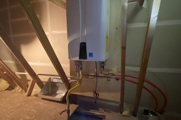 Navien Tankless Installation in Chula Vista
