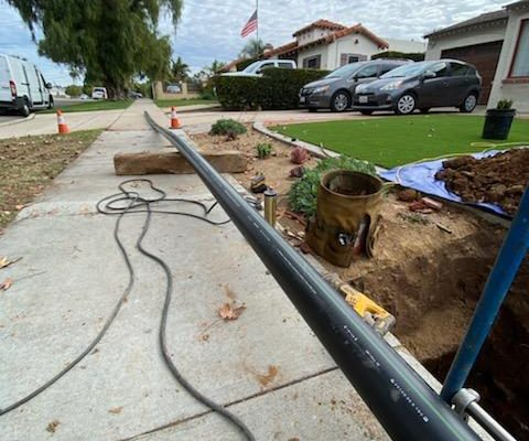 Trenchless Sewer Main Line Replacement