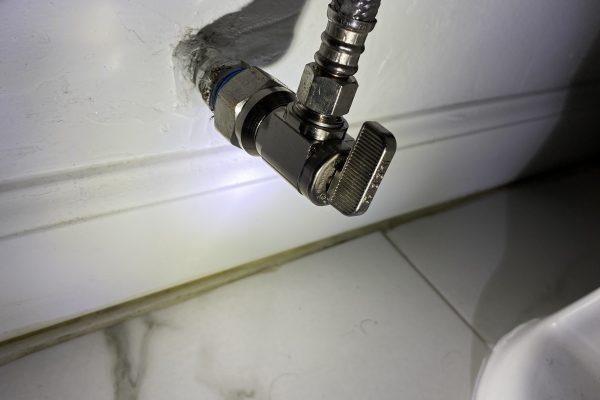 Toilet Water Shut Off Valve Replacement, San Diego CA