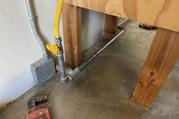 Dryer Gas Line in Rolando Village, CA
