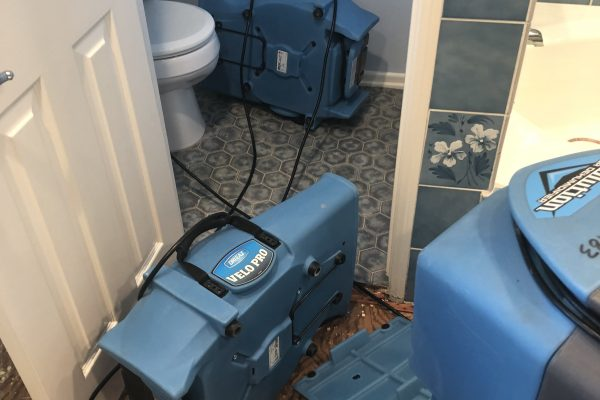 Busted Supply Line Leads to Water Damage in Ventura, California
