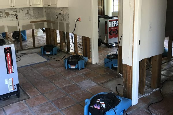 Where Do I Live after a Water Damage?
