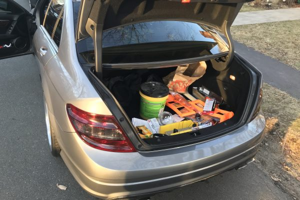 Mercedes Trunk Lockout in Boston, Massachusetts
