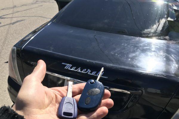 Maserati Key Replacement Boston, Massachusetts