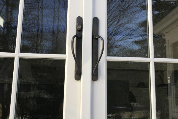 French Door Hardware In Brookline, Massachusetts