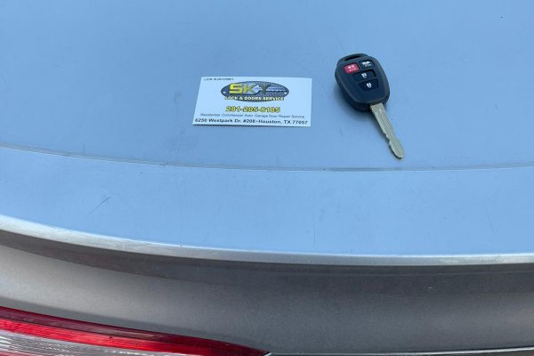 Toyota Camry Key Replacement Houston