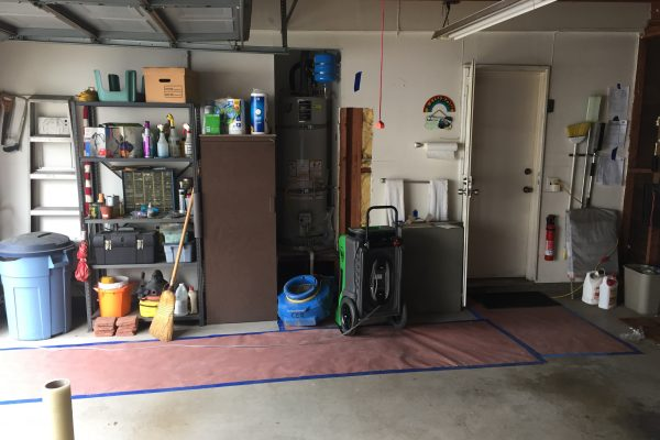 Water Damage Demolition and Clean Up in San Diego, California