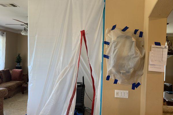 Ceiling Leak In Chula Vista, California