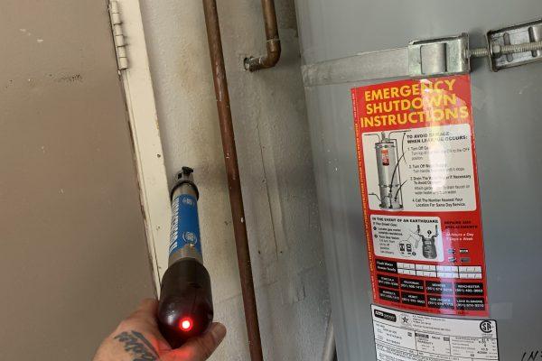 Water Heater Supply Line Leak in Temecula,CA