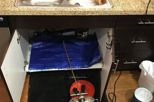 Clogged Kitchen Sink in Escondido, CA
