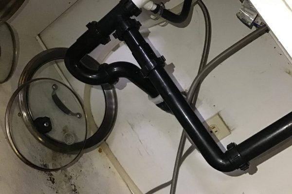 Leaky Kitchen Sink in Escondido, CA