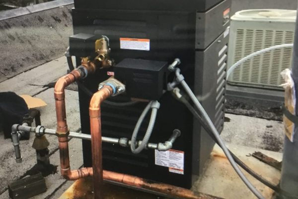 Replaced Rooftop Boiler in San Diego, CA