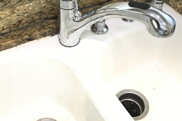 Repaired Leaking Kitchen Faucet in Del Mar, CA