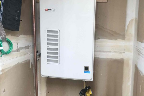 Installed New Tankless Water Heater in Vista, CA