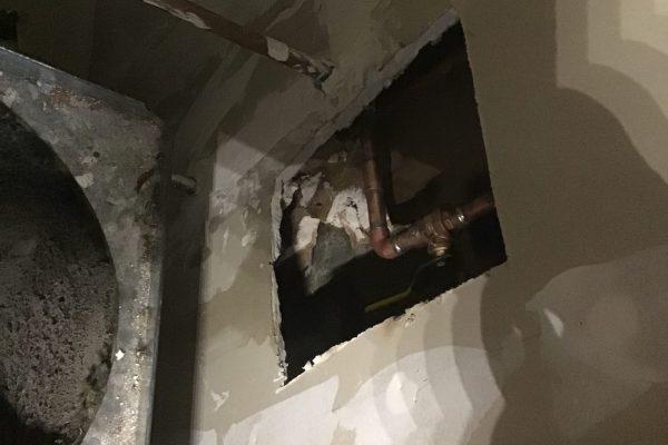 Repaired Pin Hole Leak in Escondido, CA