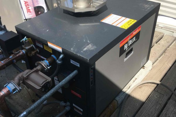 Installed New Boiler and Storage Tank in San Diego, CA
