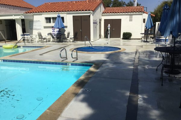 Excavate and Replace Pool Deck Drains