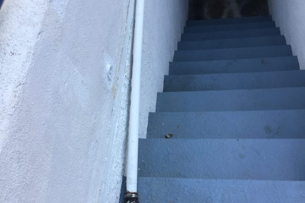Pipe in Stairwell Repair in Carlsbad, CA