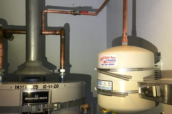 100 Gallon Water Heater Replacement in San Marcos, CA