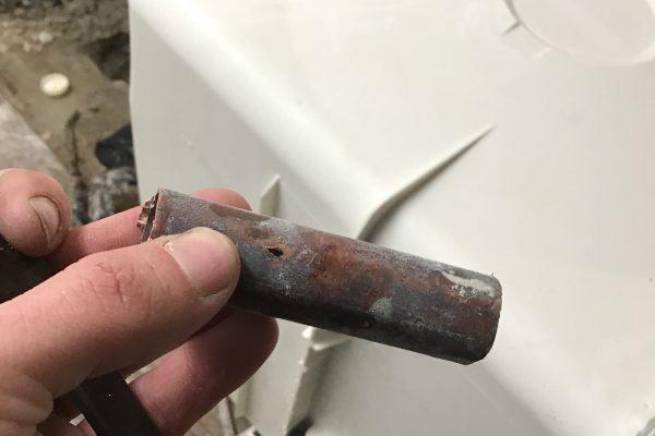 Slab Leak Repair at Apartment Complex in Vista, CA