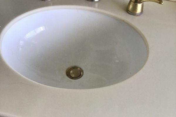 Bathroom Faucet, Angle Stops, and Pop-Up Assembly Replacement in Oceanside, CA