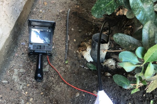 Hydrojetted and Video Inspection of Blocked Main Line in San Diego, CA