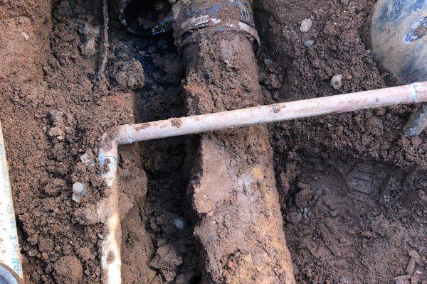 Sewer Line Repair in Carlsbad, CA.
