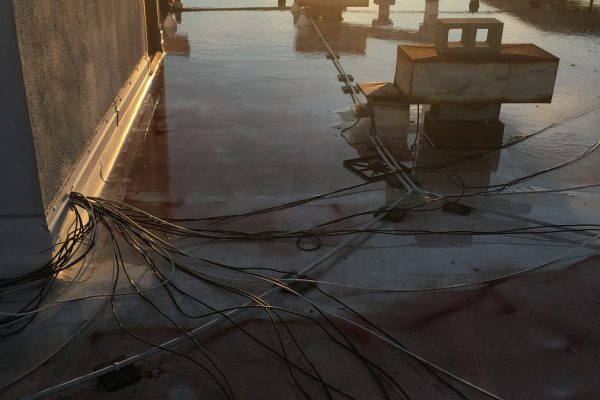 Leak Investigation on Rooftop in San Diego, CA