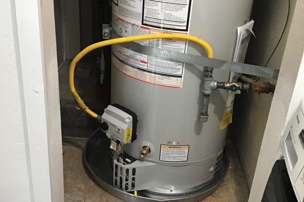 Replaced 50-Gallon Natural Gas Water Heater in Poway, CA