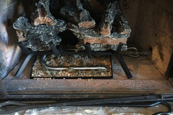 Installed Gas Log Burner in Encinitas, CA