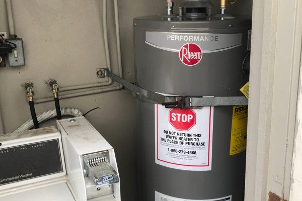 Replaced 40-Gallon Water Heater in Encinitas, CA
