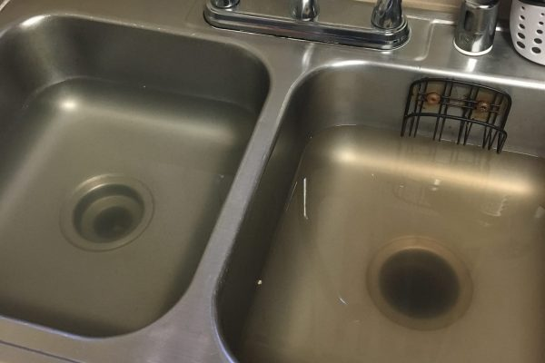 Emergency Repaired Clogged Backed Up Kitchen Sink in San Diego, CA