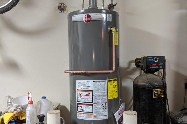 50 Gallon Gas Rheem Water Heater Installation in Chandler, Arizona