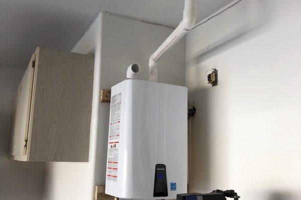 Tankless Water Heater Installation in Gilbert, Arizona