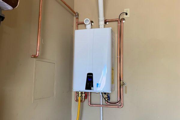 Tankless Water Heater Installation in Chandler, Arizona