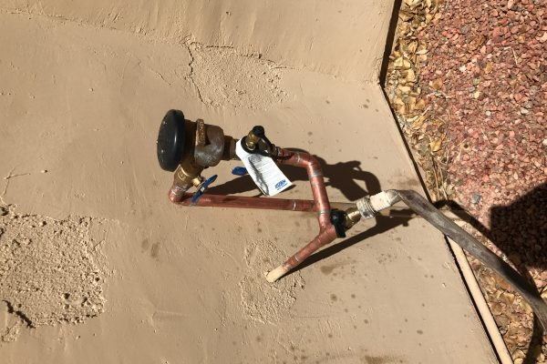 Vacuum Breaker install in Tempe, Arizona