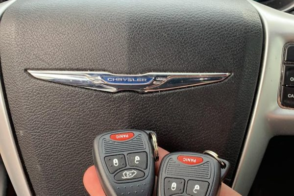 Chrysler Key Fob Replacement Dallas, Texas