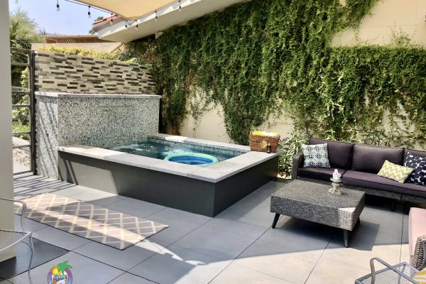 Private Courtyard Spa