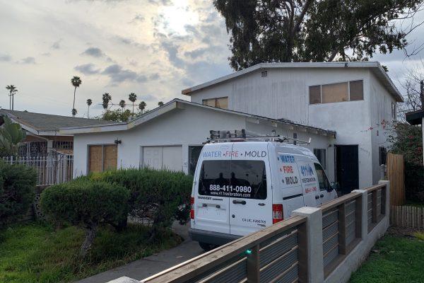 Water Damage Restoration Pomona, California