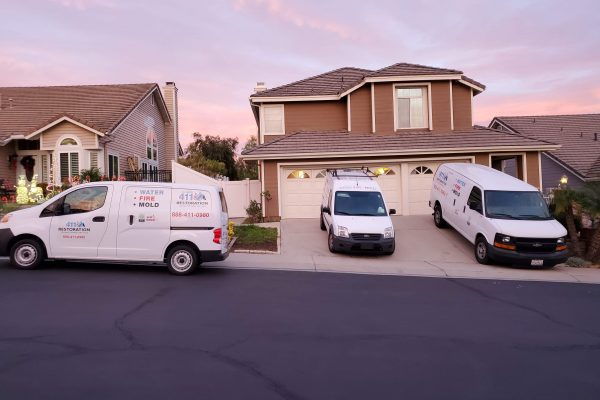 Water and Mold Damage Hoarder Repair in Yorba Linda CA