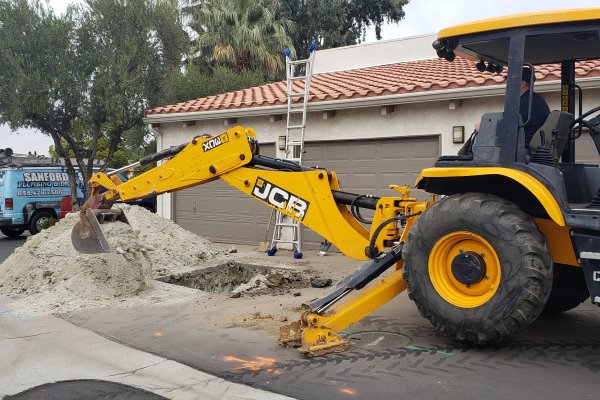 Trenchless Sewer Line Repair in Canyon Lake, California