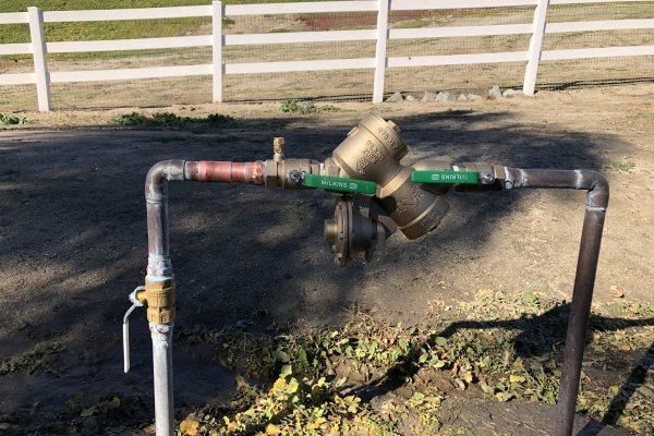 Backflow Valve Replacement Temecula, California