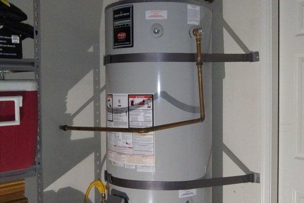 75 Gallon Water Heater Replacement, Menifee, California