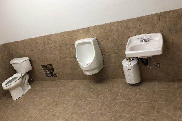 Commercial Bathroom Build Perris, California