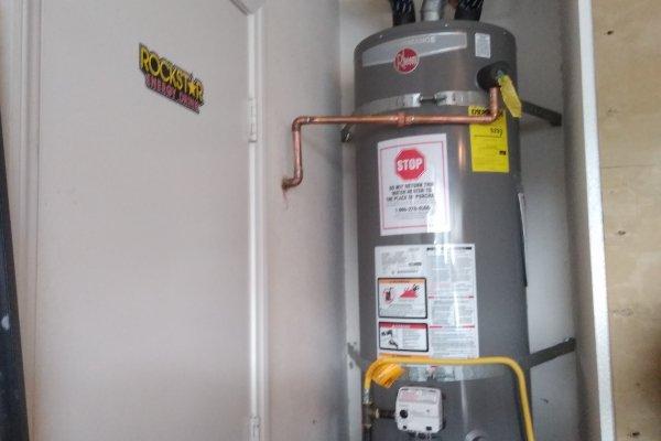 50 Gallon Water Heater Installation Lake Elsinore, California