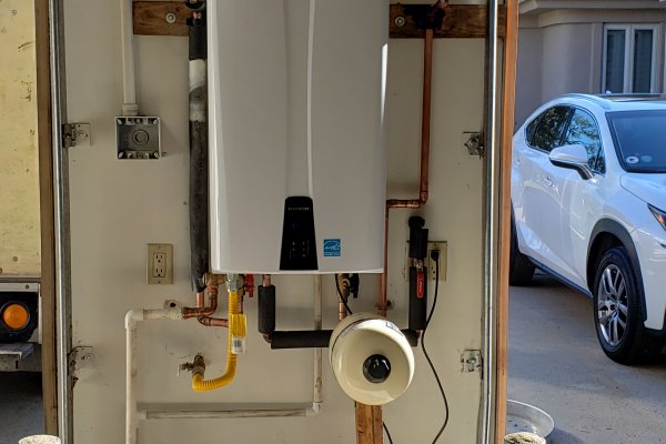 Tankless Water Heater Replacement Murrieta, California